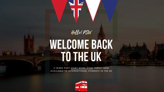 UK Post Study Work Permit (PSW)